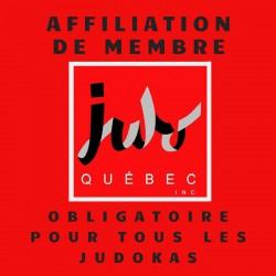 Affiliation de membre